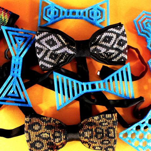 Capture d'écran 2017-08-07 à 17.54.22.png Download free STL file Honeycomb bow tie • 3D printer design, Gonzalor