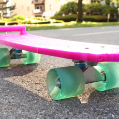 Free 3D printer model Penny board V2, Gonzalor