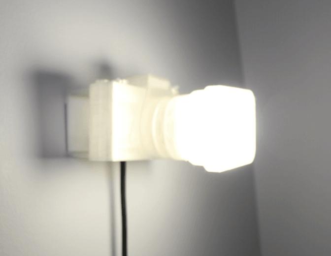 Capture d'écran 2018-03-13 à 17.07.52.png Download free STL file Not a LAMP - It is not a lamp - Camera lamp • 3D printing model, Gonzalor