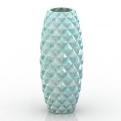 Imprimir en 3D gratis Diseño de jarrón, filamentone