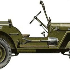 Download free 3D print files The Willys MB Jeep, filamentone