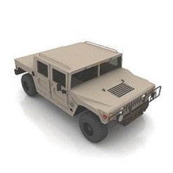 Download free 3D printing designs Humvee Hummer Army Vehicle, filamentone