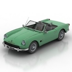 Download free STL file Triumph Spitfire, filamentone