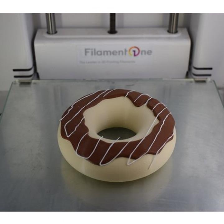 720X720-donut1.jpg Download free STL file 2 Color Donut • 3D printing design, filamentone