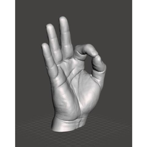 Download free 3D printing models Right Hand Model, filamentone