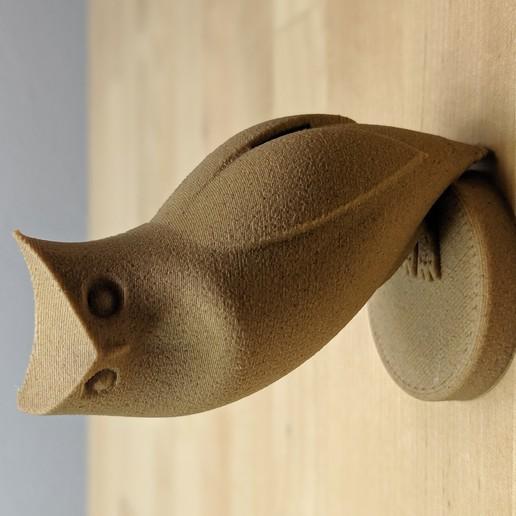 Descargar archivo 3D gratis Escultura del búho, filamentone