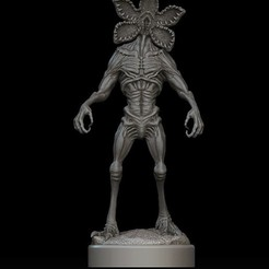 Download 3D printing templates Demogorgon statue(Stranger Things Series), stavros