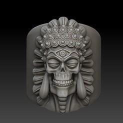 Télécharger STL Anneau de crâne de Bouddha, stavros
