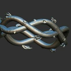 1.jpg Download OBJ file Wood Ring 3D print model • 3D printing model, stavros