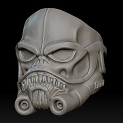 Download STL files Stormtrooper Skull Ring, stavros