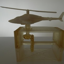 Download free STL file Supercopter - Airwolf • 3D printable template, Sebounet