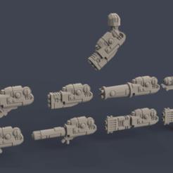 Crisis suit jazz hands.png Download STL file Space Communist Jazz Hands • 3D printer object, Poyper