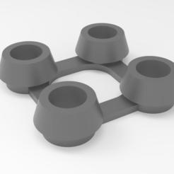 Descargar archivos STL gratis Sujetador para las rejas, Dreamer_3D