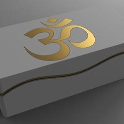 Descargar modelo 3D gratis Caja - Ola de color - Ohmio Dorado, Dreamer_3D