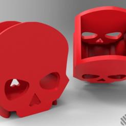 Descargar diseños 3D gratis Copa de lápiz de cráneo, Dreamer_3D