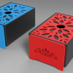 Descargar STL gratis Caja de joyas - Brillo floral, Dreamer_3D