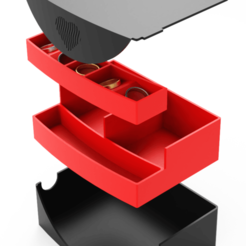 3.png Download free STL file Jewelry Box - Heart Open On Color // Final Version • 3D printer object, Dreamer_3D