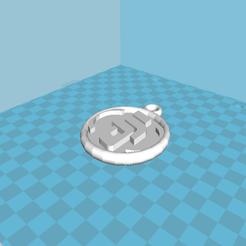 Télécharger fichier STL gratuit porte clé DJI  • Objet pour impression 3D, kc4j4