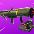 Download STL FORTNITE GUIDED MISSILE LAUNCHER // LANZAMISILES DE FORTNITE!!, MLBdesign