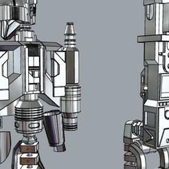 back1.jpg Télécharger fichier STL Combinaison de mitrailleuses et de jetpack pour l'infanterie lourde mandalorienne • Plan pour impression 3D, MLBdesign