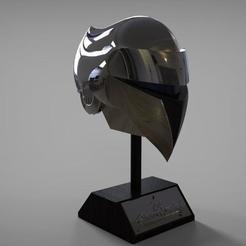 SilverHawks_1.jpg Download STL file Silverhawks helmet with Stand • 3D printer object, MLBdesign