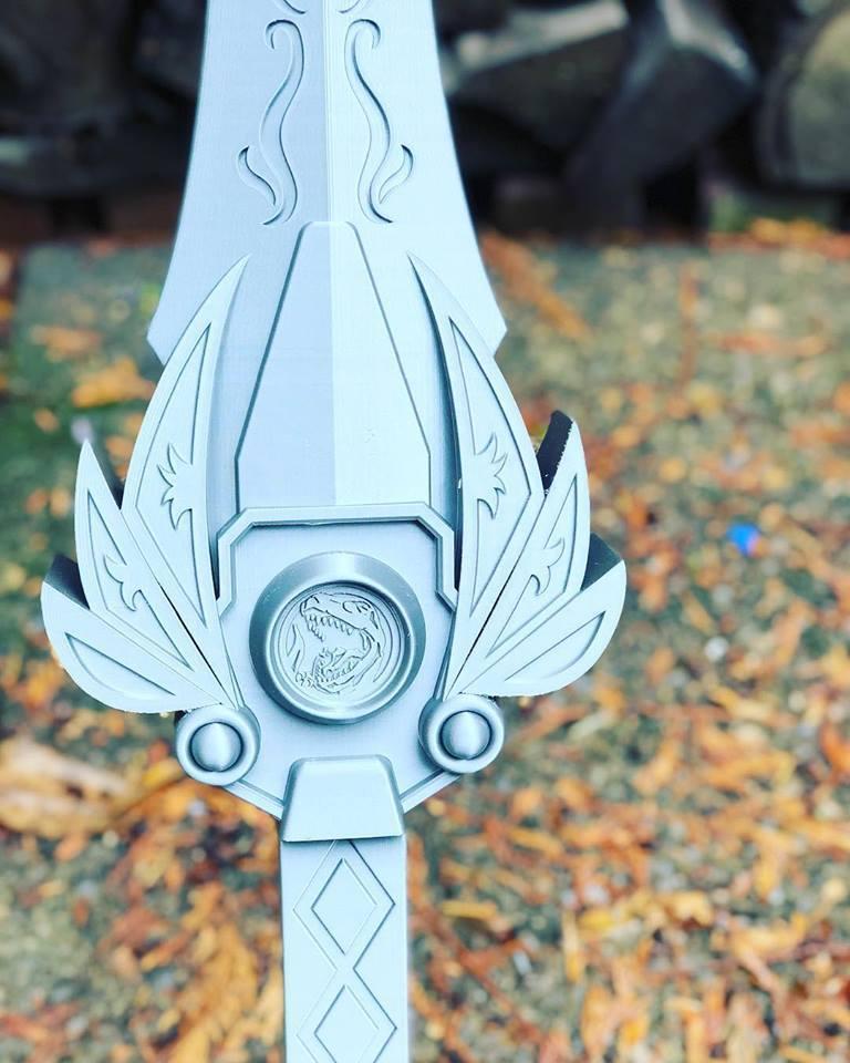 powers_sword3.jpg Download STL file Power rangers Legacy Red Ranger Sword • 3D printable template, MLBdesign