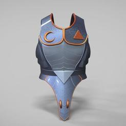 Download 3D printing templates Link Fierce Deity armor from ZELDA breath of the Wild, MLBdesign