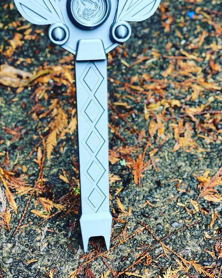 power_sword4.jpg Download STL file Power rangers Legacy Red Ranger Sword • 3D printable template, MLBdesign