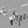 3D print model Sword of the Power Rangers Magna Defender, MLBdesign