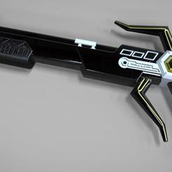 magna defender_ gun.jpg Download STL file Magna Defender Blaster Power rangers Lost Galaxy 3D print model • 3D printing model, MLBdesign