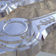 Download 3D printing templates Power rangers ninja steel sword 3D print model, MLBdesign