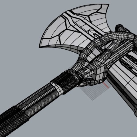 3d Printer Files Stormbreaker New Thor S Weapon From Infinity War