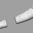 3D printer files Hacha Leviathan de kratos / Kratos Leviathan Axe, from GOD OF WAR, MLBdesign