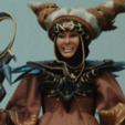 STL Rita Repulsa Staff from mighty morphin Power Rangers, MLBdesign