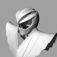 Download STL RYU helmet and chestplate power rangers / street fighter mashup, MLBdesign