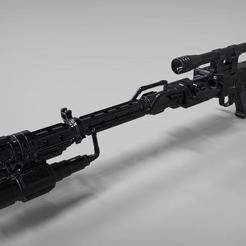 DLT_19_1.jpg Télécharger fichier STL Fusil de combat lourd DLT-19 BATTLEFRONT II • Plan imprimable en 3D, MLBdesign