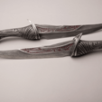 Download STL files Drax Knives daggers from guardians of the galaxy 3D print model, MLBdesign