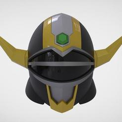 Download 3D printer designs Helmet manga defend Power Rangers Lost Galaxy 3D print model, MLBdesign