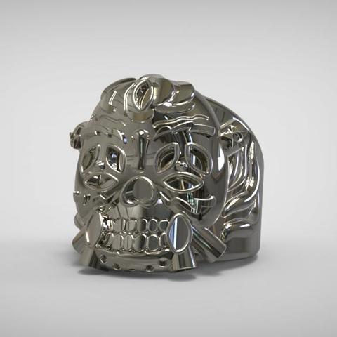 1.jpg Download STL file Lucky Ring from expendables movie 3D print model • 3D printing template, MLBdesign