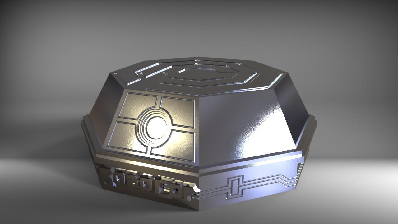 robo3.jpg Download STL file robocop hand with stand / mano de robocop con stand • 3D printer design, MLBdesign