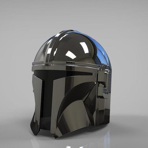 Download STL file The Mandalorian Helmet 3d print model NEW UPDATE • 3D  printable design ・ Cults
