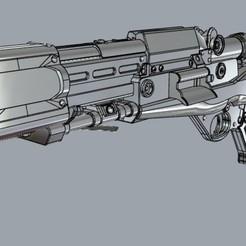 6b148440-96b0-46a5-9be1-e977c2358108.jpg Télécharger fichier STL Le blaster lourd TL-50 du front de la guerre des étoiles • Modèle pour impression 3D, MLBdesign