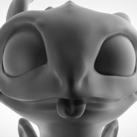 Toothless Dragon 3D printing 3.jpg Télécharger fichier STL Krokmou • Plan pour impression 3D, derailed