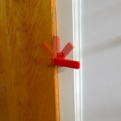 Download free 3D printing files Latch (restrained hinge; no assembly required), derailed