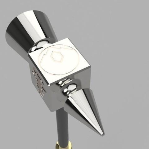 32746e35e8693d9c0b6089737948ad5e_preview_featured.jpg Télécharger fichier STL gratuit Aegis-fang- Wulfgar's Hammer (Imprimable) • Objet imprimable en 3D, derailed