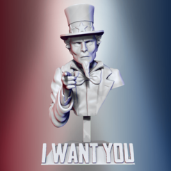 1.png Download STL file Uncle Sam • Model to 3D print, derailed
