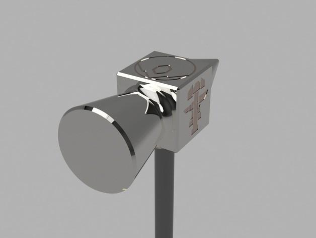 eccdb3106f08a8c4324bb8a2d1367e86_preview_featured.jpg Télécharger fichier STL gratuit Aegis-fang- Wulfgar's Hammer (Imprimable) • Objet imprimable en 3D, derailed