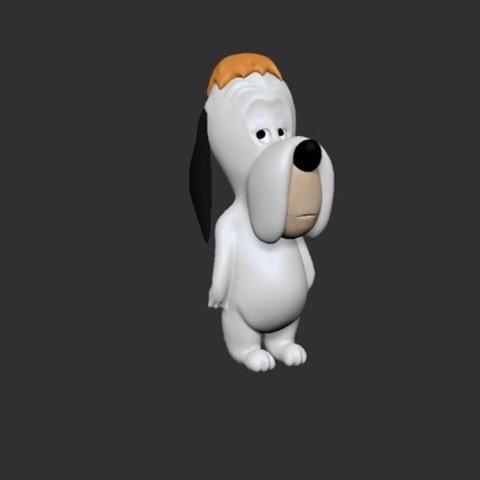 Droopy Impression 3D.jpg Télécharger fichier STL gratuit droopy • Objet pour imprimante 3D, derailed
