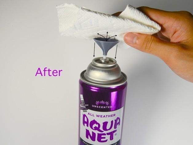 Hairspray Pump1.JPG Download free STL file Hairspray Pump • 3D printing object, derailed
