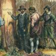 Free stl file Roanoke: The Lost Colony // CROATOAN Tree, derailed